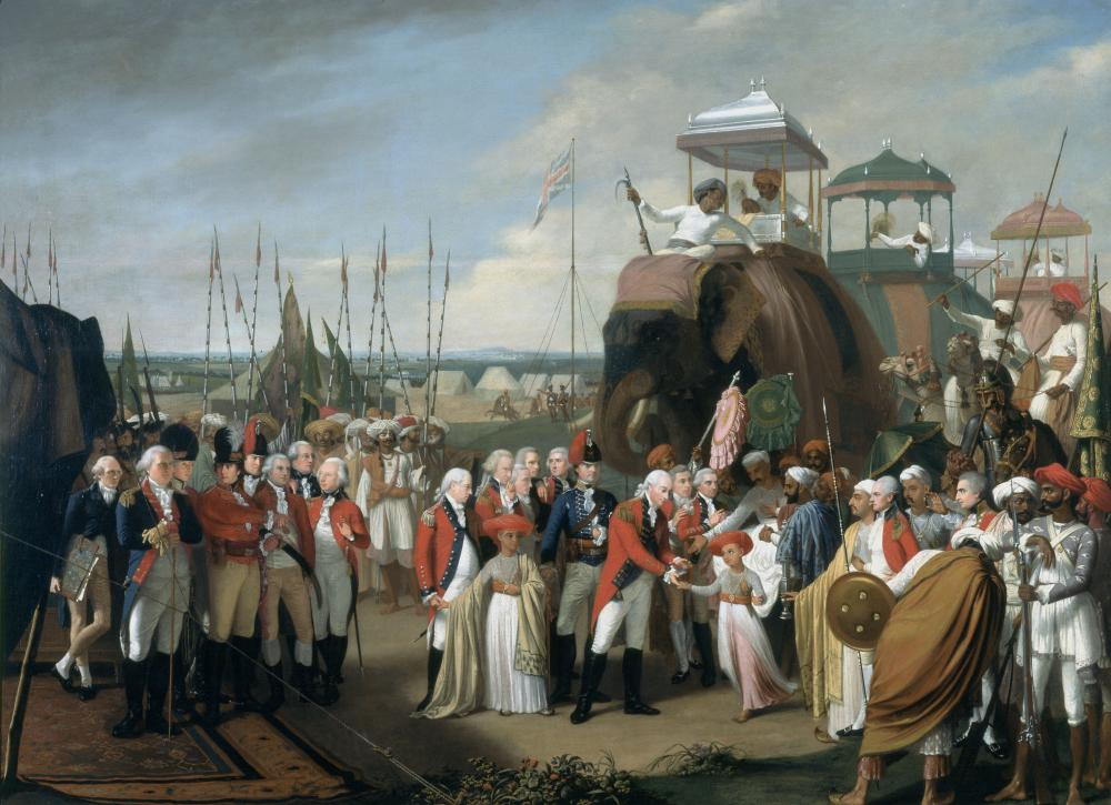 Surrender of Tipu Sultan