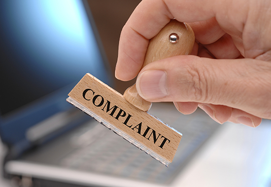 before you file a complaint