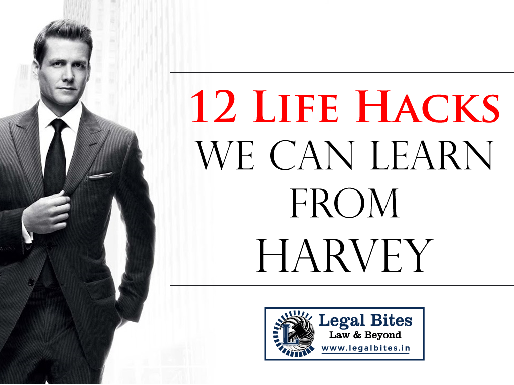 12 life hacks we can learn from Harvey Specter