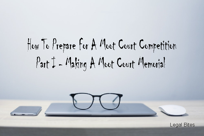 How to make a moot court memorial