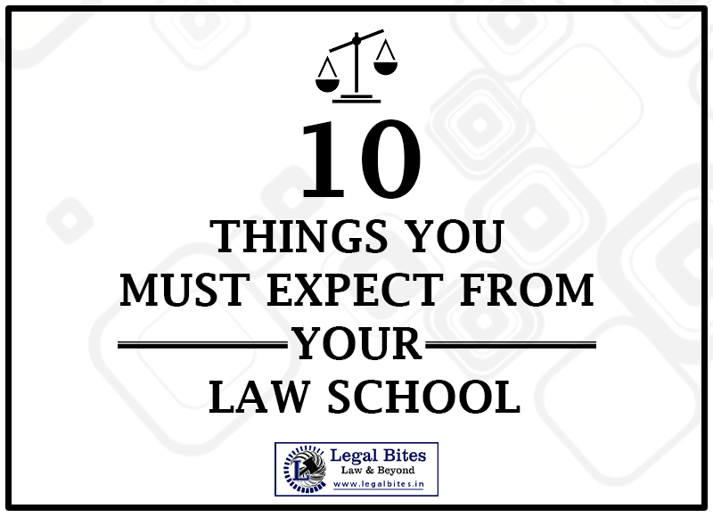 Things You Must Expect from Your Law School