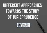 Different Approaches towards the Study of Jurisprudence