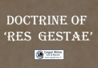 Doctrine of Res Gestae