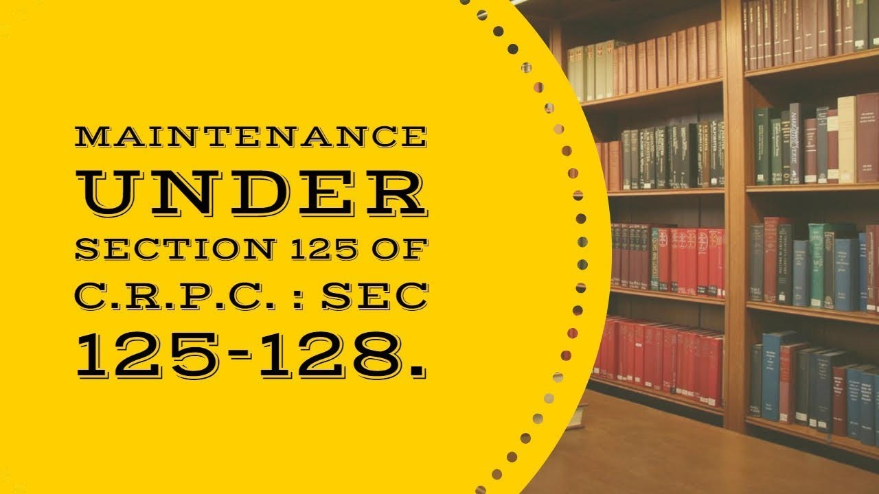 The Essential Conditions For Passing Of A Maintenance Order And Alteration Of Order Of Allowance