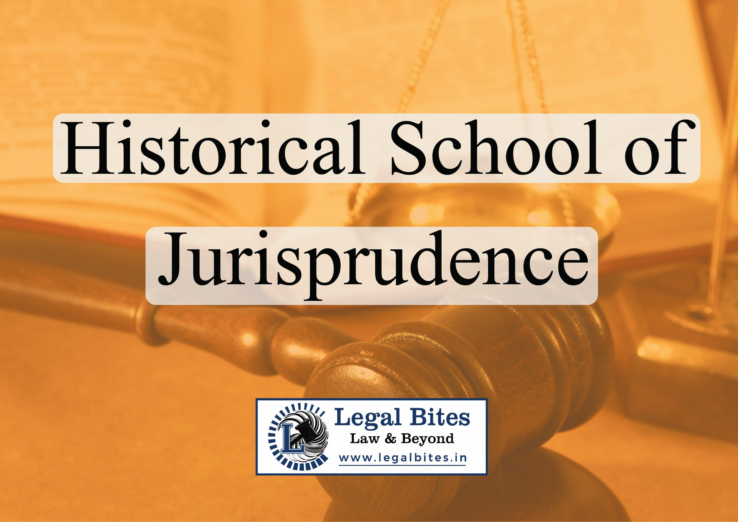 Historical School of Jurisprudence