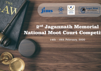 2nd Jagannath Memorial National Moot Court Competition