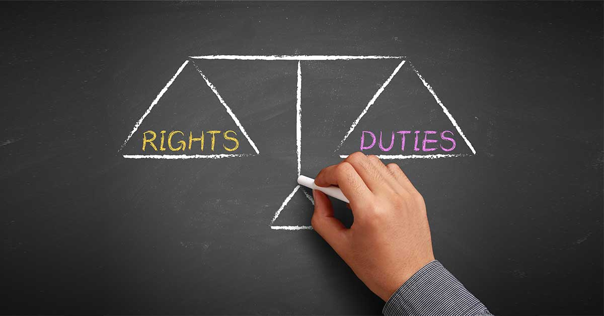 Rights, Duties & Wrongs: An overview