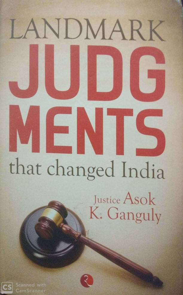 Book Review- Landmark Judgement That Changed India