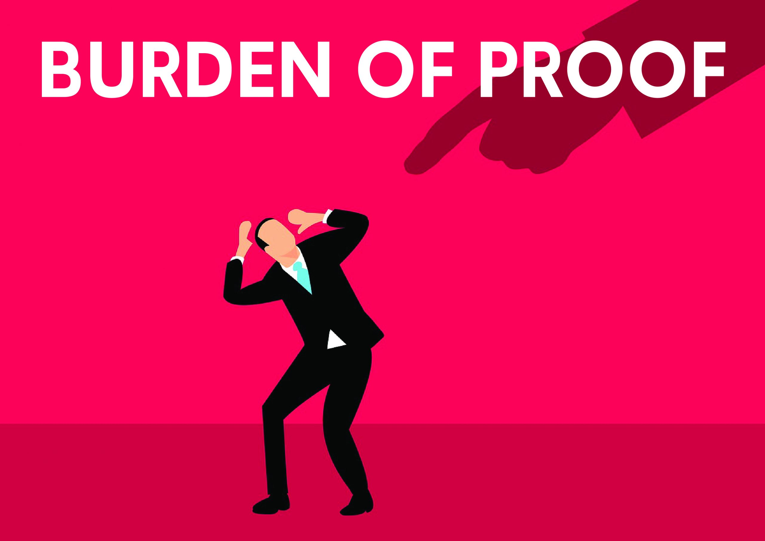 Rules relating to Burden of Proof 01 scaled