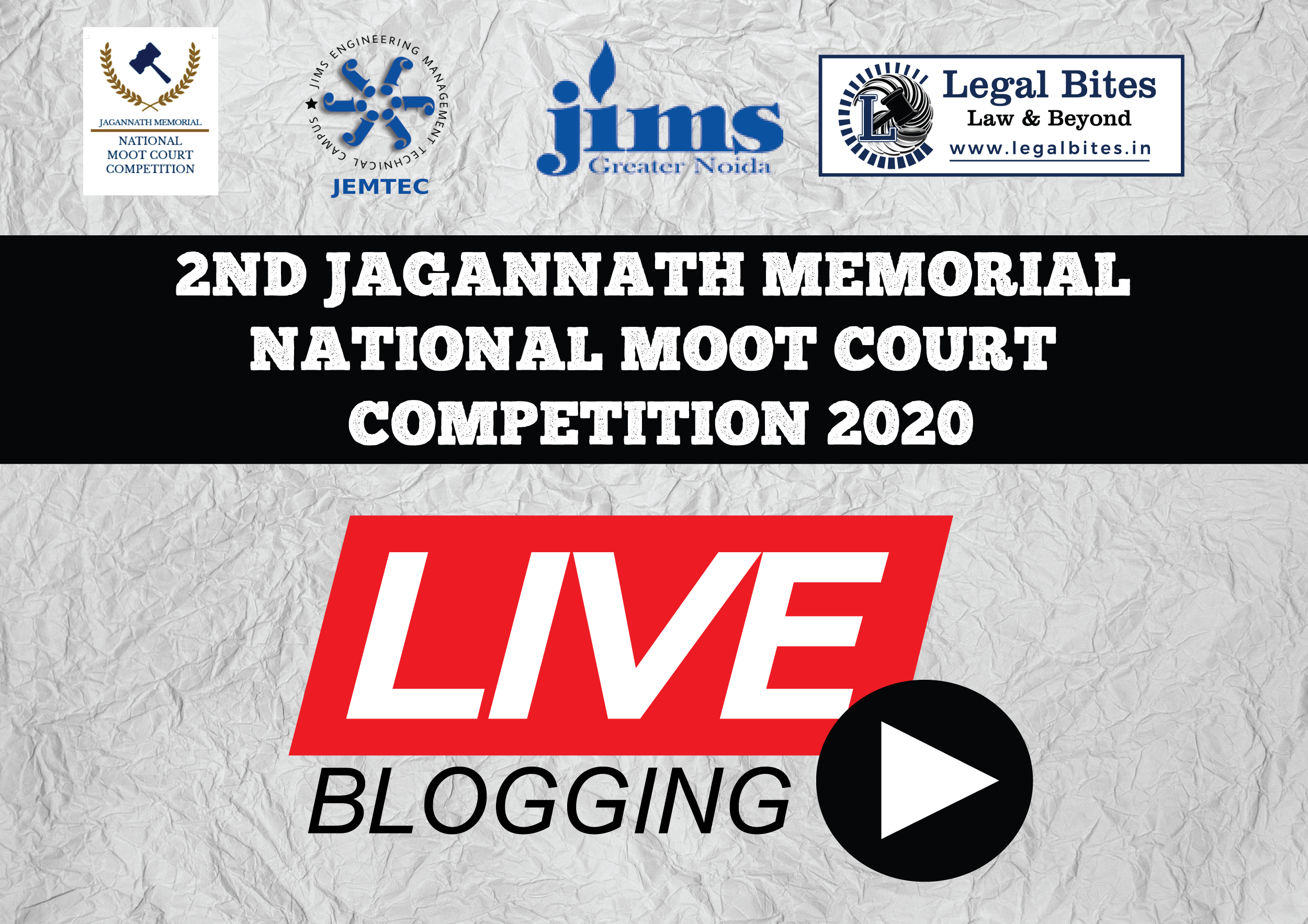Live: 2nd Jagannath Memorial National Moot Court Competition 2020