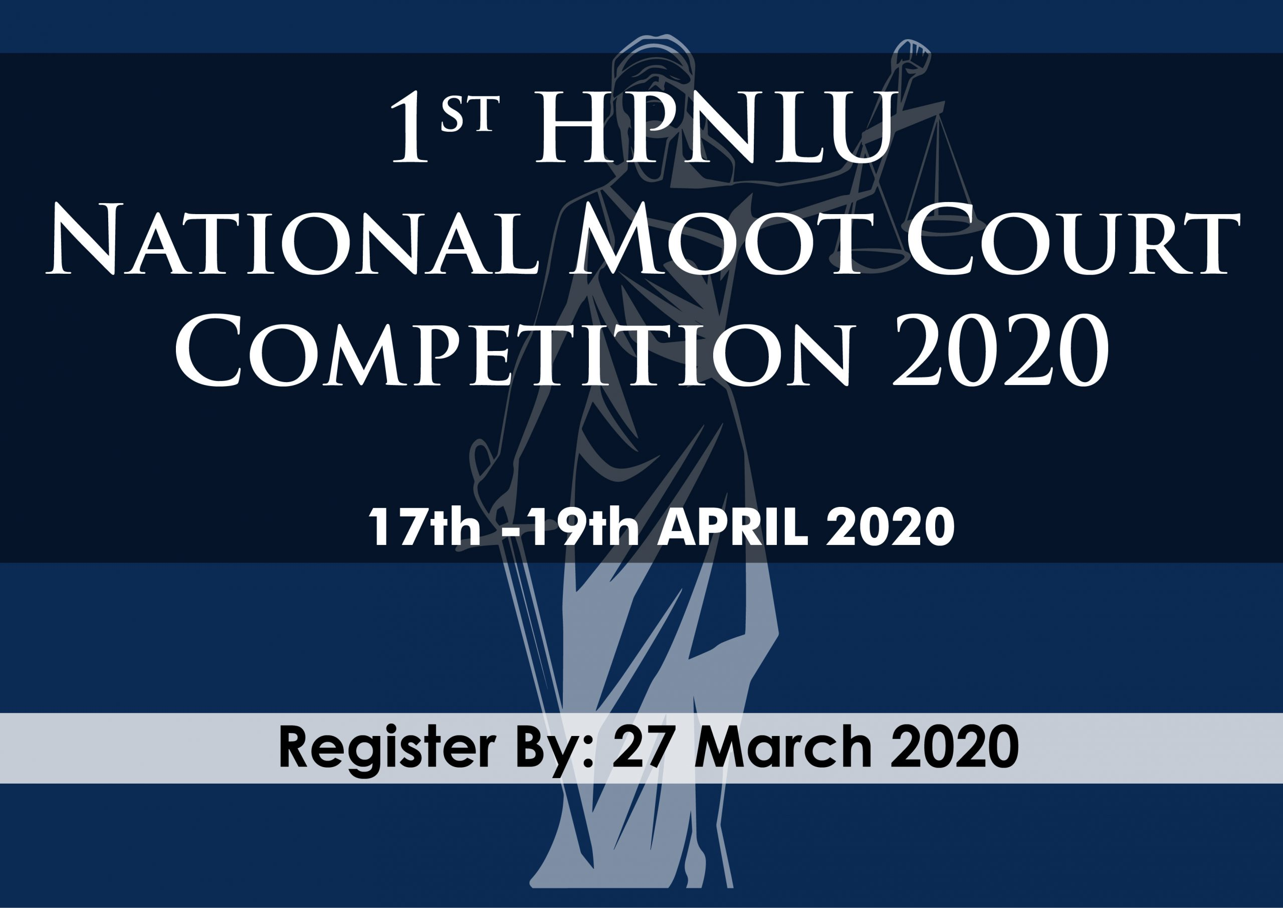 1st HPNLU National Moot Court Competition 2020