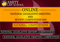 Online National Legislative Drafting and Review Competition 2020
