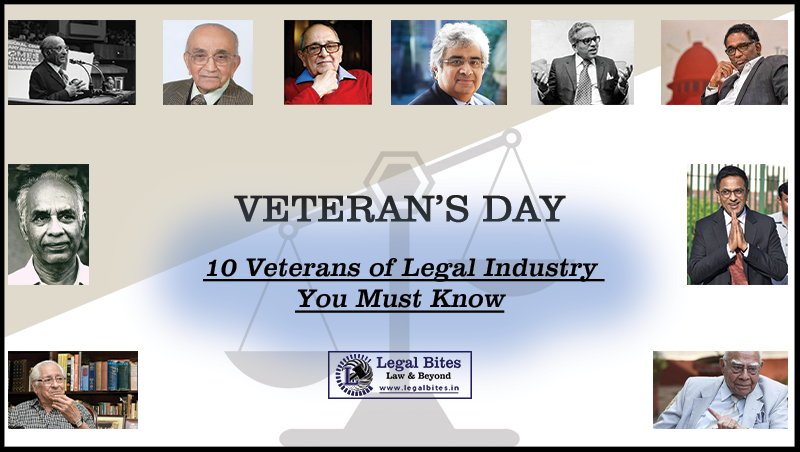 10 Veterans of Legal Industry You Must Know