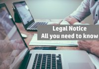 Legal Notice: All you need to know