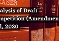 Analysis of Competition Amendment Bill 2020