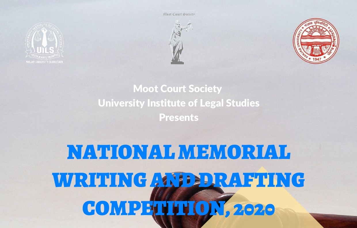National Memorial Drafting Competition | UILS, PU