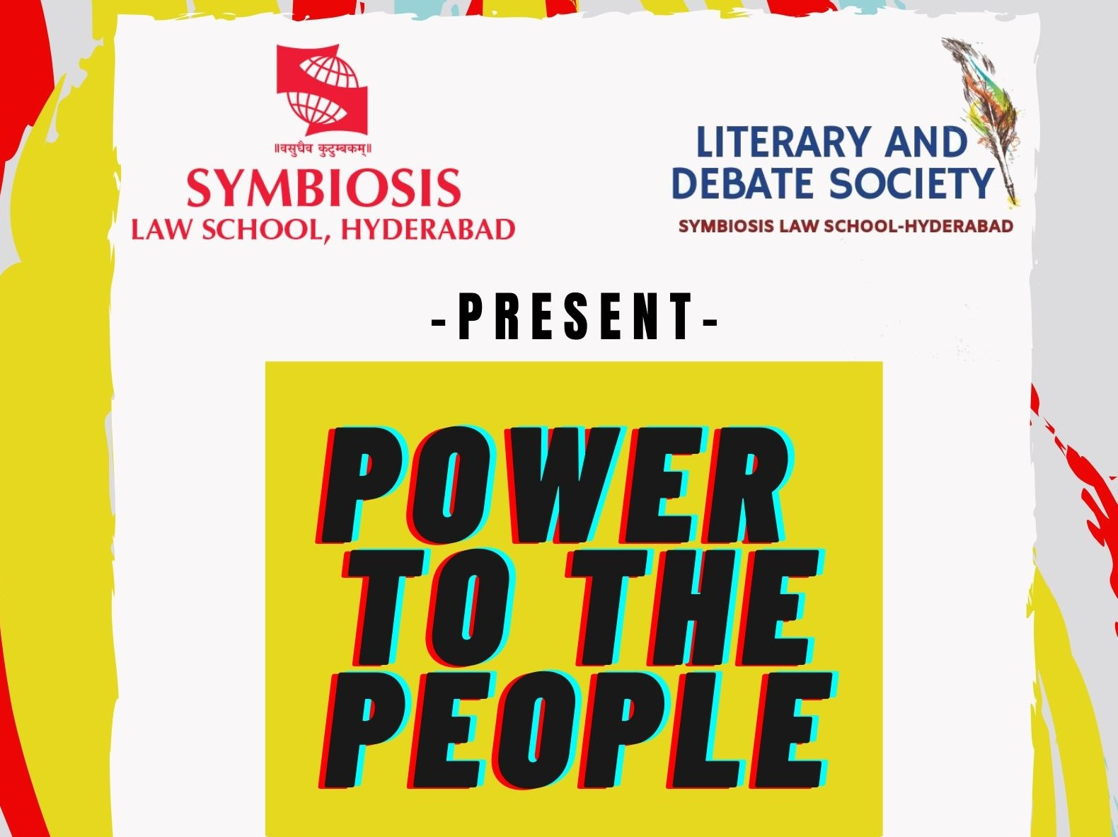Power To The People-Online Oxford Union Format Debate Competition SLS Hyderabad