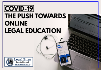 COVID-19 The Push Towards Online Legal Education