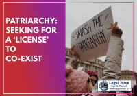 Patriarchy Seeking for a 'License' to Co-Exist