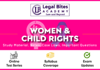 Women and Child Rights
