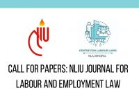 Call for Papers NLIU Journal of Labour and Employment Law (JLEL)