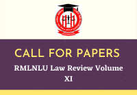RMLNLU Law Review Volume XI