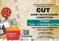 CUT-UPES Short Movie Making Competition 2020