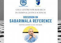 GNLU Webinar on Sabarimala Reference