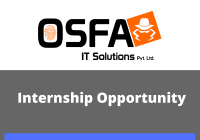 Online Internship Opportunity at OSFA IT Solutions
