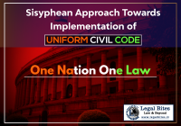 Sisyphean Approach Towards Implementation of Uniform Civil Code