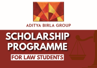 Aditya BIRLA Scholarship Programme for Law Students