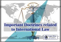 Important Doctrines related to International Law