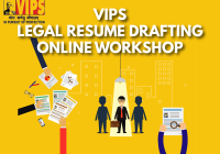 Webinar on Legal Resume Drafting | VIPS