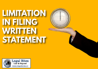 Limitation for Filing Written Statement under CPC