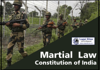 Martial Law in the Constitution of India