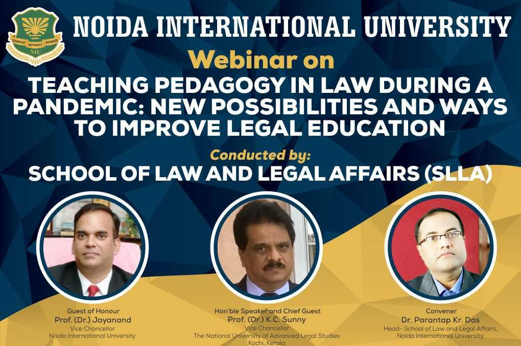 Teaching Pedagogy in Law during a Pandemic New possibilities and ways to improve Legal Education