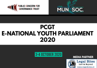 PCGT E-National Youth Parliament 2020