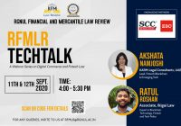 RFMLR Techtalk Series: Open Banking and Smart Contracts | RGNUL