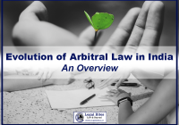 Evolution of Arbitral Law in India