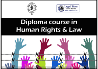 Diploma course in Human Rights & Law