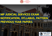 MP Judicial Services Exam