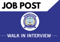 Walk-in-Interview: Engagement of OSD to Vice-Chancellor