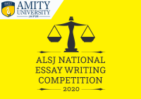 ALSJ National Essay Writing Competition 2020 | Amity Jaipur