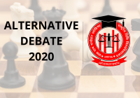Alternative Debate 2020 RMLNLU