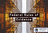 Law of Evidence in the United States of America