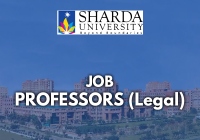Vacancy: Professor, Associate Professor & Assistant Professor(Legal) | Sharda University