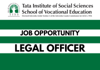 Job: Legal Officer at TISS