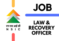 Law & Recovery Officer at National Small Industries Corporation (NSIC)