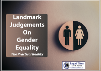 Landmark Judgements On Gender Equality The Practical Reality
