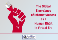 Internet Access as a Human Right